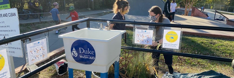 Sink Installation at Durham Skate Park